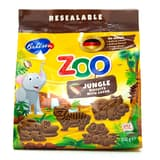 Bánh quy cacao Leibniz Zoo Jungle Animals gói 100g