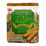 Bánh cuộn giòn dinh dưỡng 12 loại ngũ cốc Pei Tien gói 180g