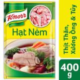Hạt nêm thịt thăn, xương ống và tủy Knorr gói 400g